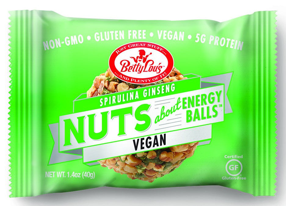 Dietary Supplement - Betty Lou's Spirulina Ginseng Energy Balls