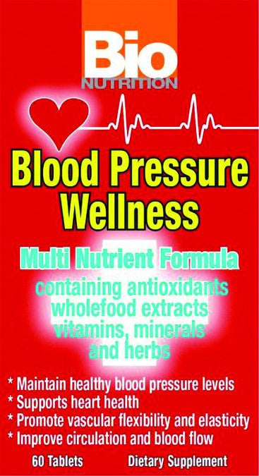 Dietary Supplement - Bio Nutrition Blood Pressure Wellness 60 TAB