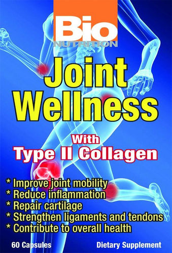 Dietary Supplement - Bio Nutrition Joint Wellness 60 TAB