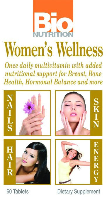 Dietary Supplement - Bio Nutrition Women's Wellness 60 TAB