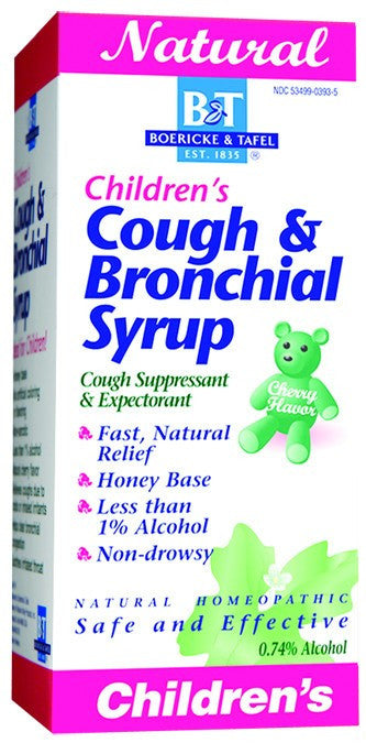 Dietary Supplement - Boericke & Tafel Children's Cough & Bronchial Syrup 4 OZ