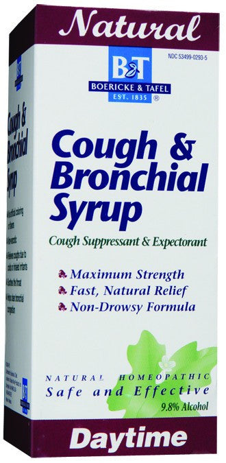 Dietary Supplement - Boericke & Tafel Cough & Bronchial 8 OZ