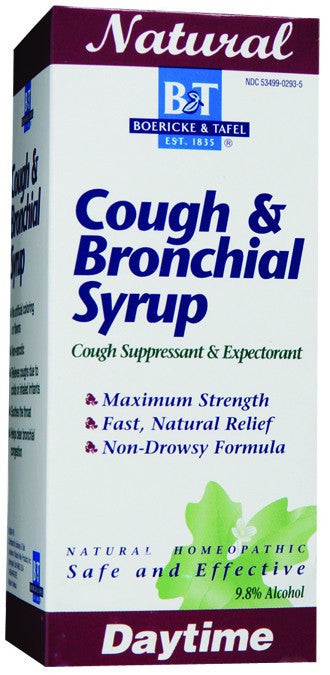 Dietary Supplement - Boericke & Tafel Cough & Bronchial Syrup 4 OZ
