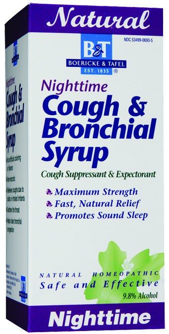 Dietary Supplement - Boericke & Tafel Nighttime Cough & Bronchial 8 OZ