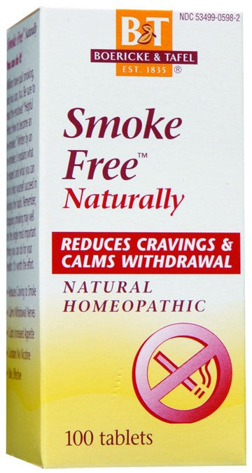 Dietary Supplement - Boericke & Tafel Smoke Free 100 TAB
