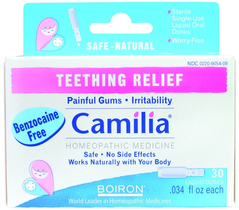 Dietary Supplement - Boiron Camilla Teething Relief 30 DOS