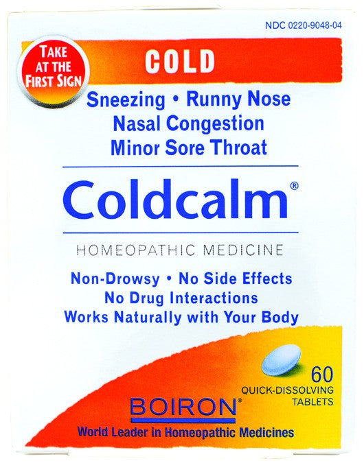 Dietary Supplement - Boiron Coldcalm 60 TAB