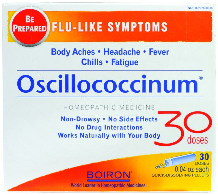 Dietary Supplement - Boiron Oscillococcinum 30 DOS