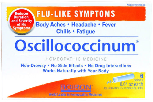 Dietary Supplement - Boiron Oscillococcinum 6 DOS