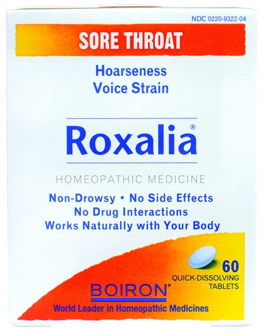 Dietary Supplement - Boiron Roxalia 60 TAB