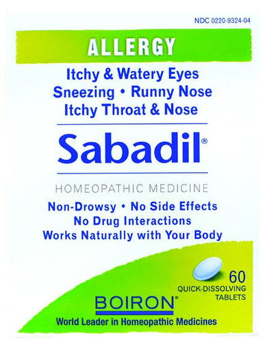 Dietary Supplement - Boiron Sabadil 60 TAB