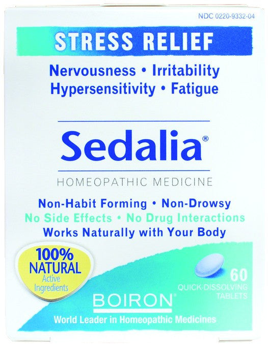 Dietary Supplement - Boiron Sedalia 60 TAB