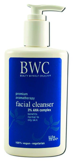 Dietary Supplement - BWC Beauty Without Cruelty 3% AHA Facial Cleanser 8.5 OZ