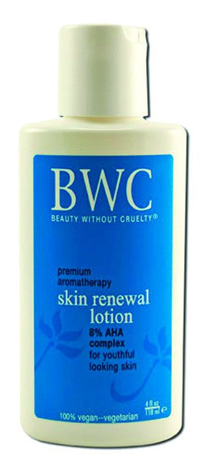 Dietary Supplement - BWC Beauty Without Cruelty AHA Renewal Moisture Lotion 4 OZ