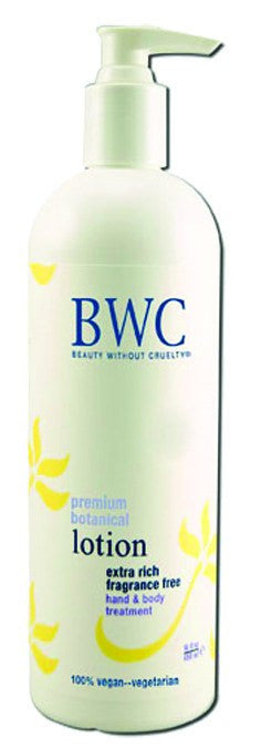 Dietary Supplement - BWC Beauty Without Cruelty Ex Rich Fragrance Free H & B Lotion 16 OZ