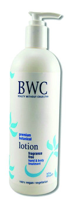 Dietary Supplement - BWC Beauty Without Cruelty Fragrance Free Hand And Body Lotion 16 OZ