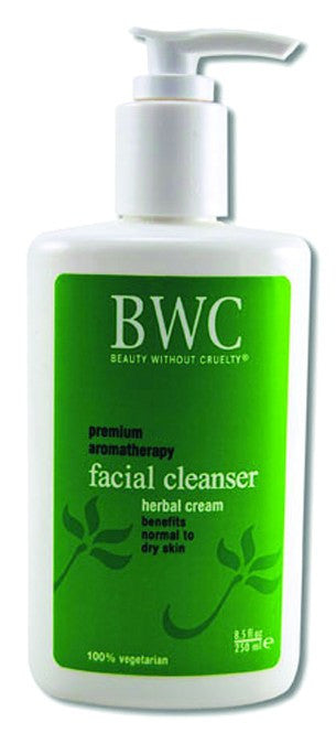 Dietary Supplement - BWC Beauty Without Cruelty Herbal Cream Facial Cleanser 8.5 OZ