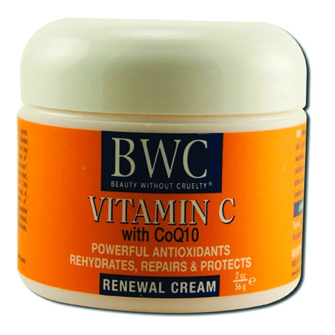 Dietary Supplement - BWC Beauty Without Cruelty Organic C/COQ10 Face Cream 2 OZ