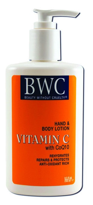 Dietary Supplement - BWC Beauty Without Cruelty Organic C/COQ10 H&B Lotion