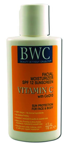 Dietary Supplement - BWC Beauty Without Cruelty Organic C/COQ10 SPF 17 Lotion