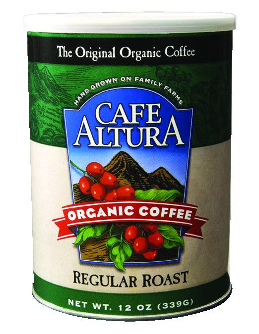 Dietary Supplement - Cafe Altura Regular Roast Ground Coffee 12 OZ