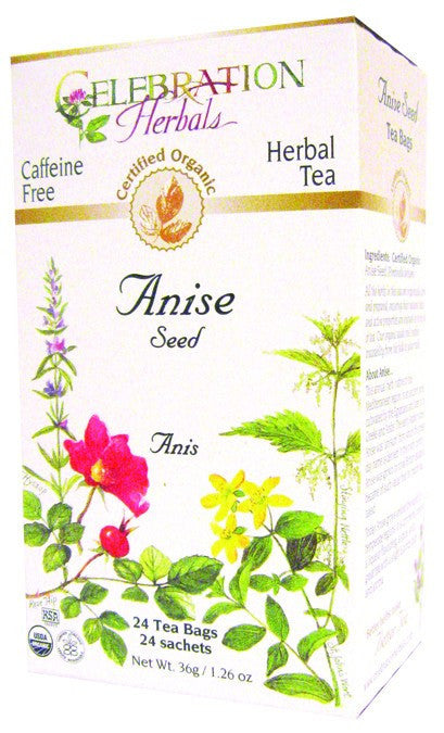 Dietary Supplement - Celebration Herbals Anise Seed Tea Organic 24 BAG