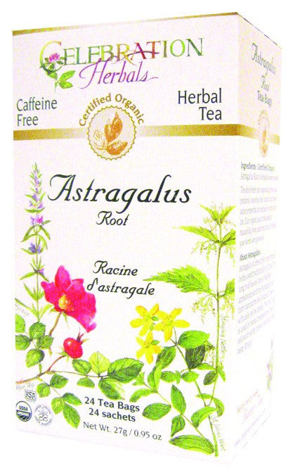 Dietary Supplement - Celebration Herbals Astragalus Root Tea Organic 24 BAG