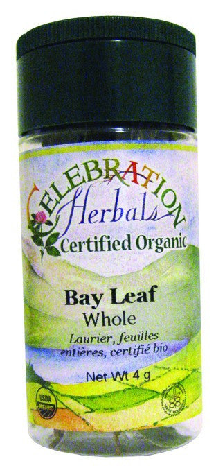Dietary Supplement - Celebration Herbals Bay Leaf Whole Organic 4 G