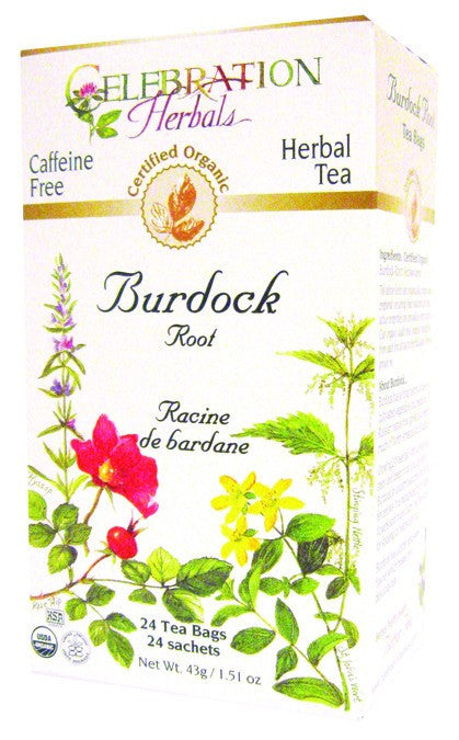 Dietary Supplement - Celebration Herbals Burdock Root Tea Organic 24 BAG