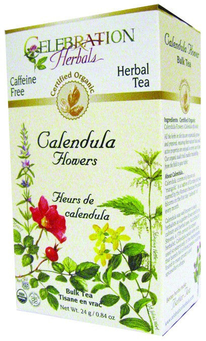 Dietary Supplement - Celebration Herbals Calendula Flowers Organic 24 GM