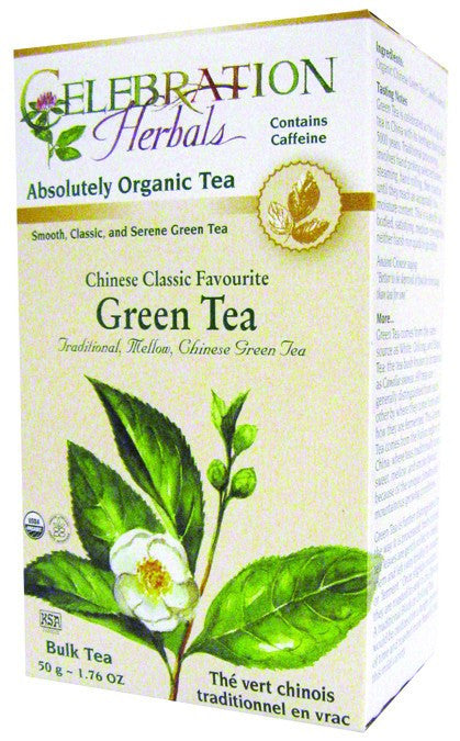 Dietary Supplement - Celebration Herbals Chinese Green Tea Classic Org 50 GM