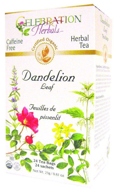 Dietary Supplement - Celebration Herbals Dandelion Leaf Tea Organic 24 BAG