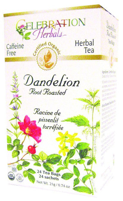 Dietary Supplement - Celebration Herbals Dandelion Root Roasted Tea Org 24 BAG