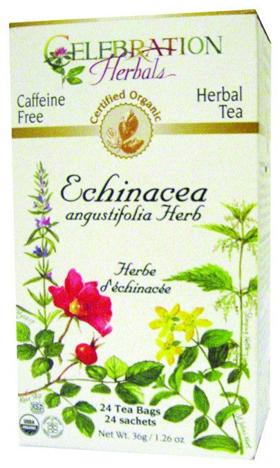 Dietary Supplement - Celebration Herbals Echinacea Ang Herb Tea Organic 24 BAG