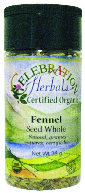 Dietary Supplement - Celebration Herbals Fennel Seed Whole Organic 45 GM