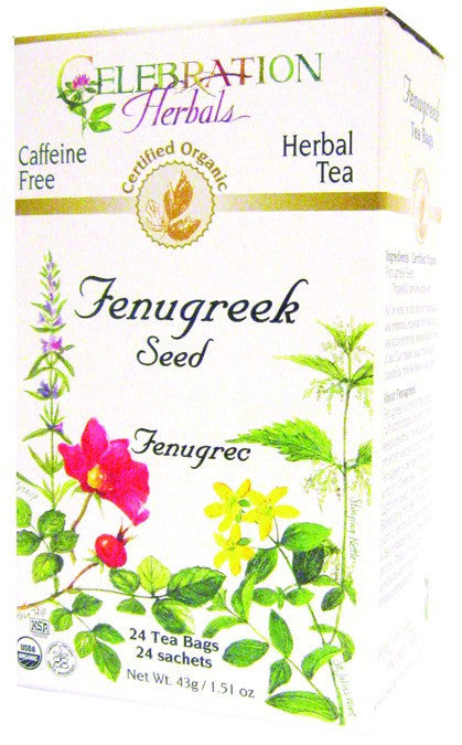 Dietary Supplement - Celebration Herbals Fenugreek Seed Organic 24 BAG