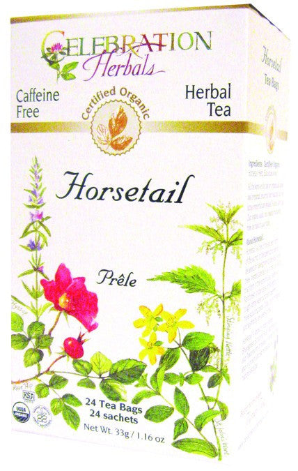 Dietary Supplement - Celebration Herbals Horsetail Tea Organic 24 BAG