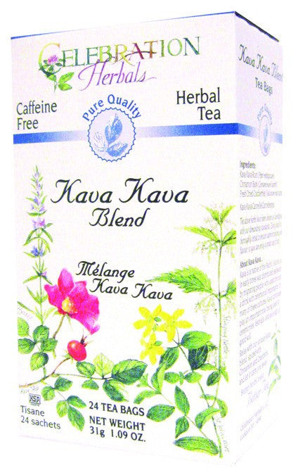 Dietary Supplement - Celebration Herbals Kava Kava Blend Pure Quality 24 BAG