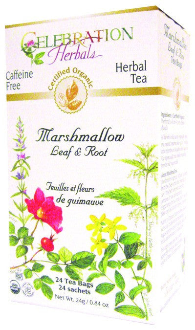 Dietary Supplement - Celebration Herbals Marshmallow Leaf & Root Organic 24 BAG