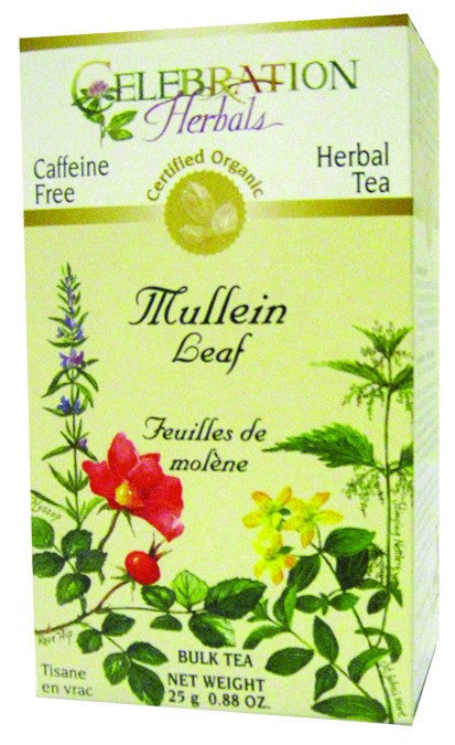 Dietary Supplement - Celebration Herbals Mullein Leaf Organic Loosepack 25 GM