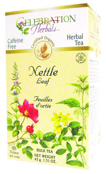 Dietary Supplement - Celebration Herbals Nettle Leaf Organic 40 GM