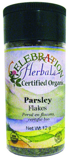 Dietary Supplement - Celebration Herbals Parsley Flakes Organic 7 G