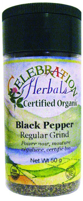 Dietary Supplement - Celebration Herbals Pepper Black Reg Ground Organic 50 G