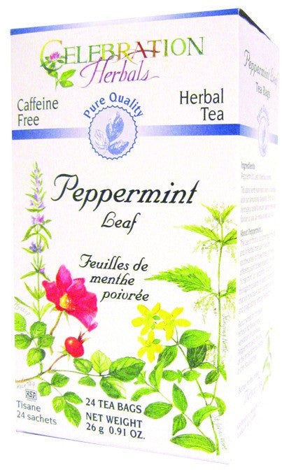 Dietary Supplement - Celebration Herbals Peppermint Leaf Tea PQ 24 BAG