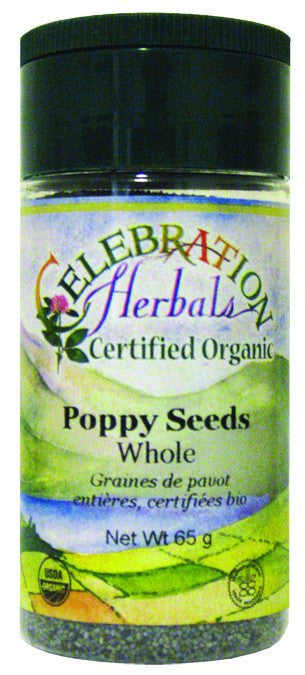 Dietary Supplement - Celebration Herbals Poppy Seeds Whole Organic 60 G