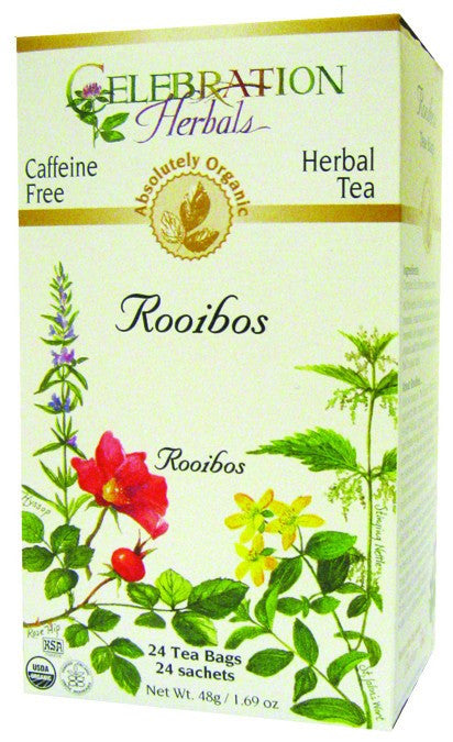Dietary Supplement - Celebration Herbals Rooibos Red Tea Organic 24 BAG