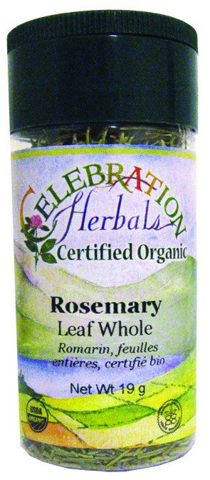 Dietary Supplement - Celebration Herbals Rosemary Leaf Whole Organic 21 G