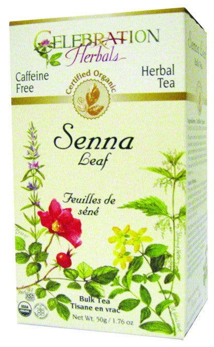 Dietary Supplement - Celebration Herbals Senna Leaf C/s Organic Tea 50 GM