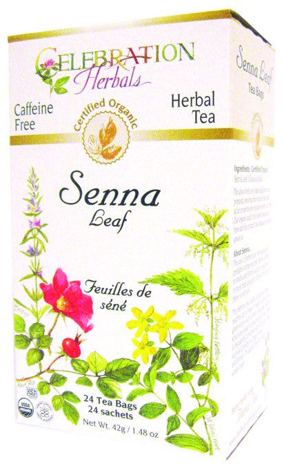 Dietary Supplement - Celebration Herbals Senna Leaf Tea Organic 24 BAG