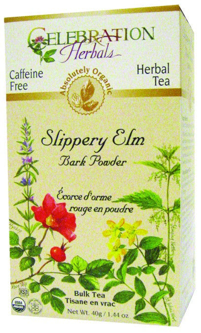 Dietary Supplement - Celebration Herbals Slippery Elm Bark Tea 65 GM